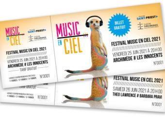 Festival Music en Ciel : Billetterie